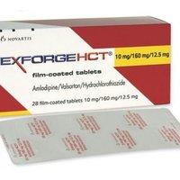 Amlodipine Valsartan And Hydrochlorothiazide Tablets