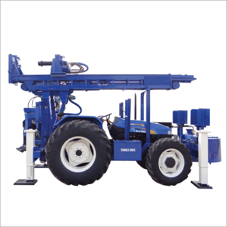 Tractor Mounted Core Cum DTH Cum Rotary Drilling Rig