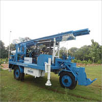 Trolley Mounted DTH cum Rotary Drilling Rigs