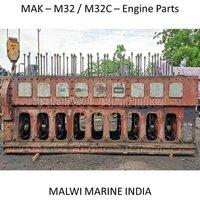 MAK-16M32-12M32-9M32-8M32-6M32-M32C ENGINE PARTS