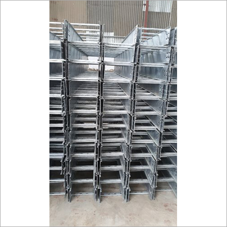 Hot-Dip Galvanized Ladder Cable Tray, For Industrial