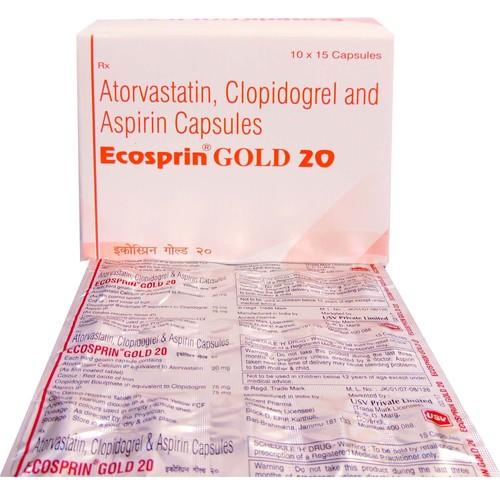 Aspirinine Atorvastatin And Clopidogrel Capsule