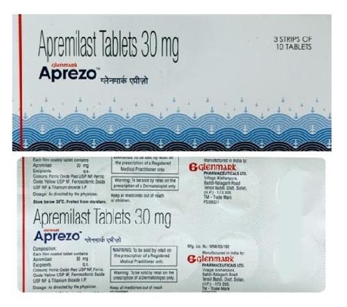 Generic Otezla Apremilast 30mg Tablet