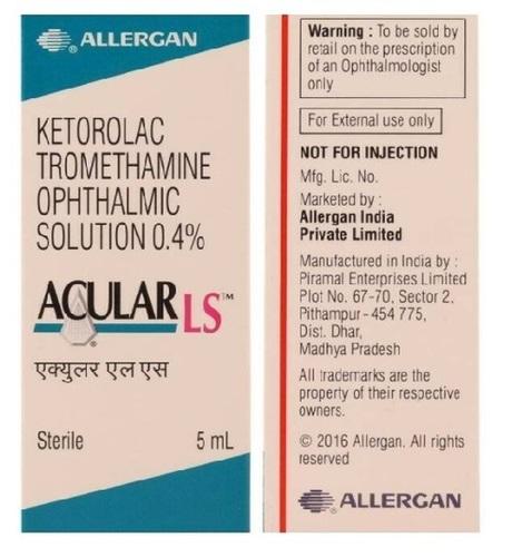 Brand Aculacular Ls Ophthalmic Eye Drop