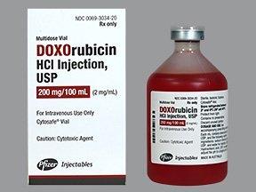 Doxorubicin Hydrochloride Injections
