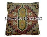 Cotton Kilim Designer Sofa Cushion Covers