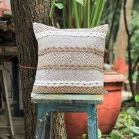 Decorative New Designer Stylish Cotton Cushion Covers With Beautiful Fringes