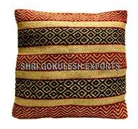 Handloom Hot sale Jute Indian Sofa Cushion Covers