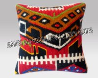 Geometric Handmade Designer 100% Jute Cushion Covers