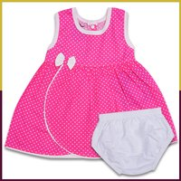 Sumix Fifi Baby Girl Round Neck Frock