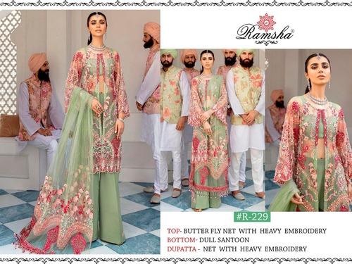 Beautiful Georgette Unstitched Unstitched Salwar Suit Pakistani Dresses