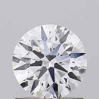 Round Brilliant Cut HPHT 0.85ct Diamond