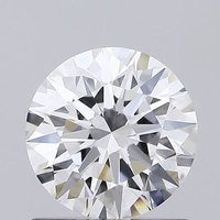 Round Brilliant Cut HPHT 0.82ct Diamond