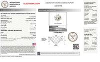 Round Brilliant Cut HPHT 0.82ct Diamond