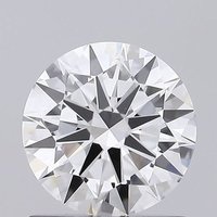 Round Brilliant Cut HPHT 0.81ct Diamond