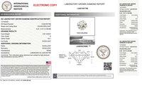 Round Brilliant Cut HPHT 0.81ct Diamond