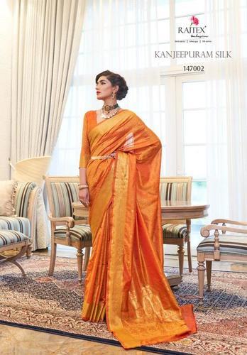Kanjivaram Silk Bridal Patola Banarasi Woven Saree
