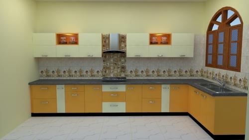 Plywood Modular Kitchen