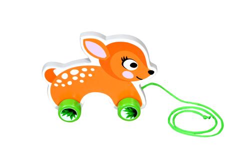 Kidken Pull Along Toy Rabbit