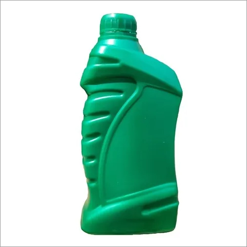 HDPE PLASTIC GREEN LUBRICANT BOTTLE 1 Litre