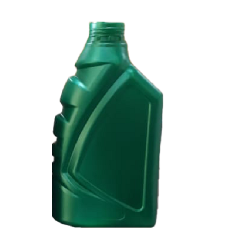 Hdpe Plastic Green Lubricant Bottle 1 Litre