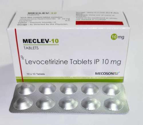 10mg  Levocetirizine Hydrochloride Tablet