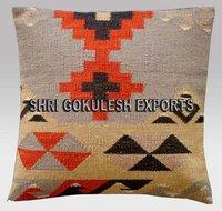 Elegant Designer Wool Handmade Kilim Cushion Covers