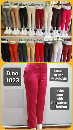Stretchable Cotton Blend Pant