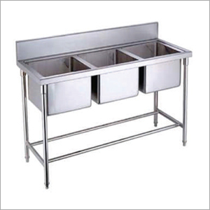 Three Compartment Sink