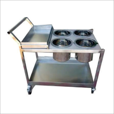 SS Food Service Trolley