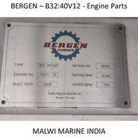 BERGEN-B35:40V12-B32:40V12-B32:40V16-B32:40L6-B32:40L8-B32:40L9 ENGINE PARTS