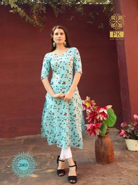 Fashion Trend Vol 2 Heavy Cotton Printed Kurtis