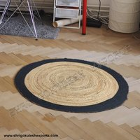 Indian Handmade 100% Braided Jute Carpets for Decoration