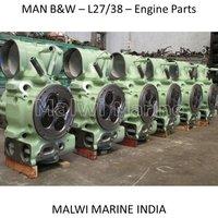 MAN B&W-9L27/38-8L27/38-7L27/38-6L27/38 ENGINE PARTS
