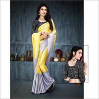 Ladies Double Shade Saree