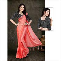 Ladies Red Designer Saree