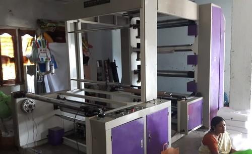 Flexo 4 Colour printing Machine