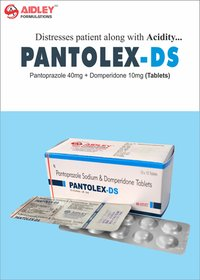 Pantoprazole 40mg + Domperidone 10mg Tablet