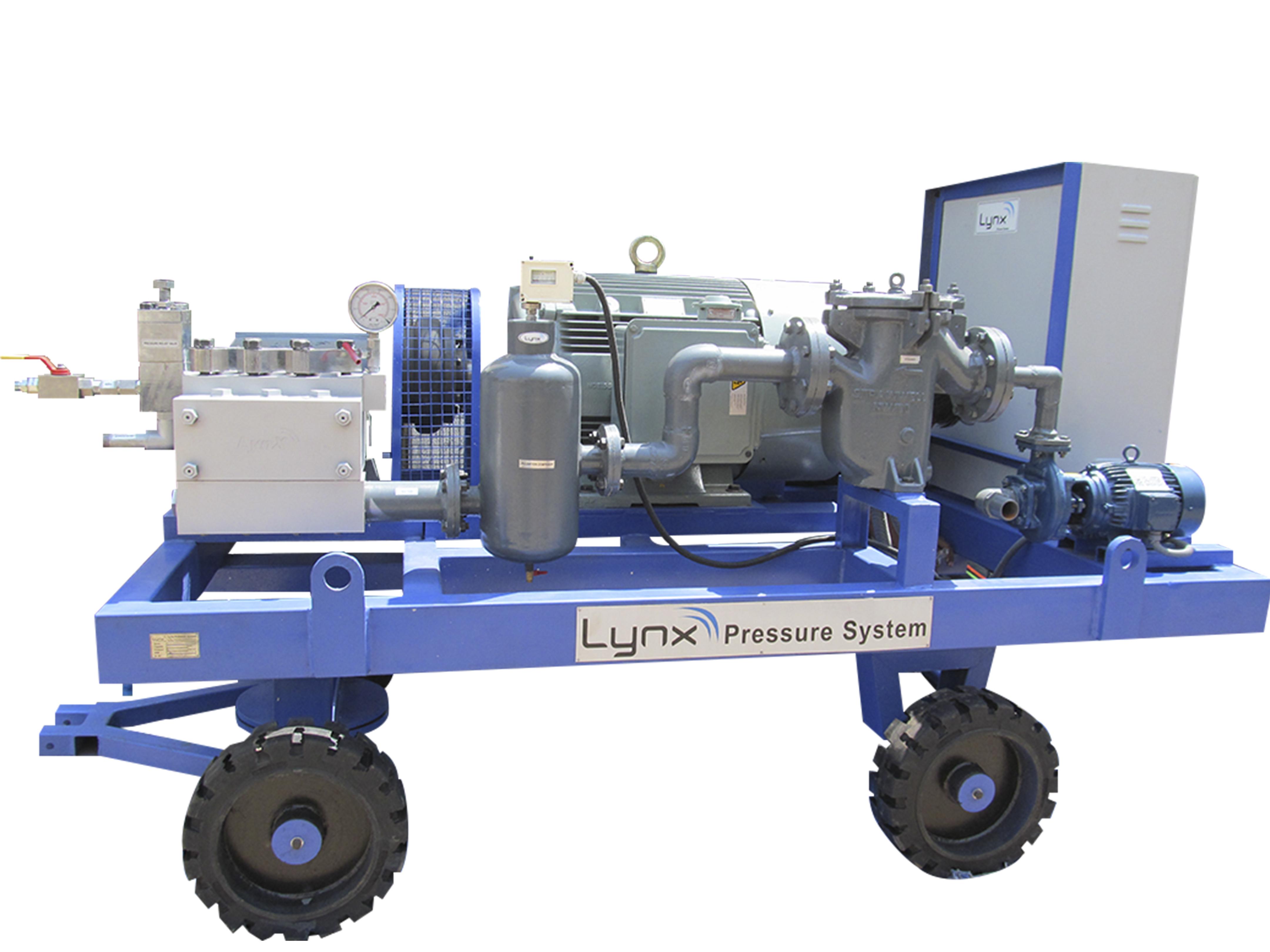 High Pressure Blasting Machines