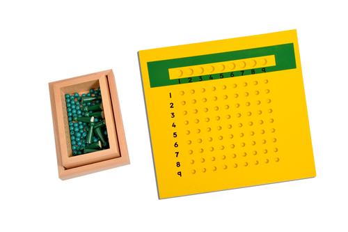 Kidken Montessori Division Board with Bead Box / Unit Division Board