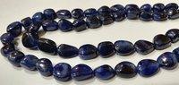 Natural Blue Sapphire Plain Smooth Nugget Tumbled Shape
