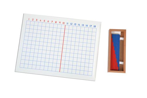 Kidken Montessori Addition Board