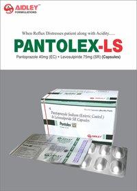 Pantoprazole 40mg (EC) + Levosulpiride 75mg (SR)  Capsule