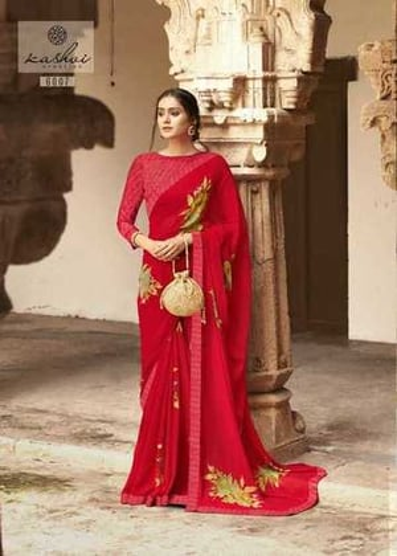 Ladies Art Silk Bollywood Fashion Saree With Blouse