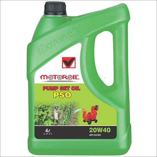 20W40 4 Ltr PSO Pump Set Oil