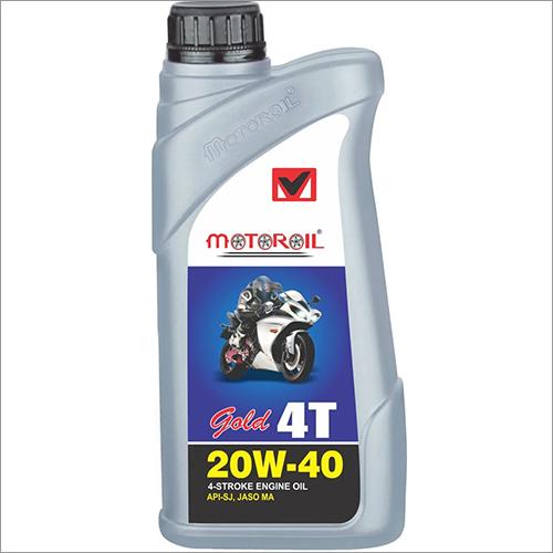 20W-40 4T Gold 4 Stroke Engine Oil