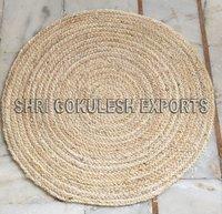 Exclusive Modern Pattern Indian Handmade Jute Braided Carpets