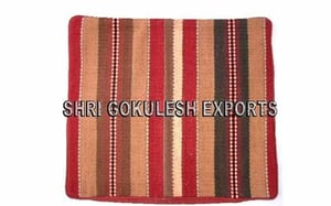 Indian Handmade Chenille Cushion Covers