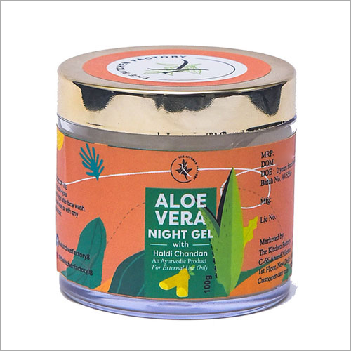 Aloe Vera Haldi Chandan Night Gel