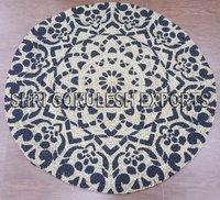 Indian Handmade 100% Pure Fabric Braided Jute Carpets